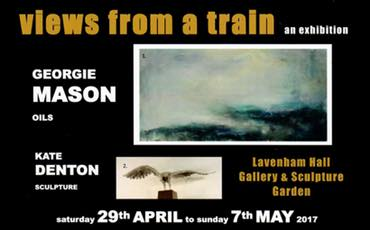 Georgie Mason exhibition at Lavenham Hall Gallery
