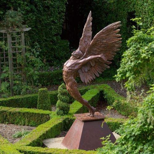"""Dare to Dream"" a Bronze sculpture by Kate Denton"