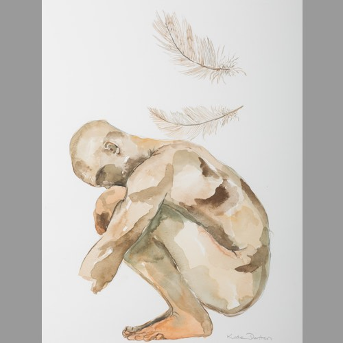 Crouching Study by Kate Denton