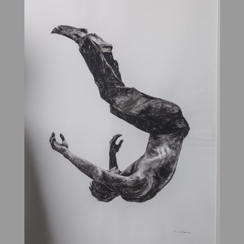 Gravity Study 2 by Kate Denton part of the Icarus Series
