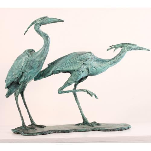 Two Herons by Kate Denton