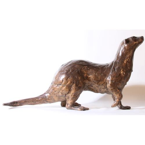 Standing Otter by Kate Denton