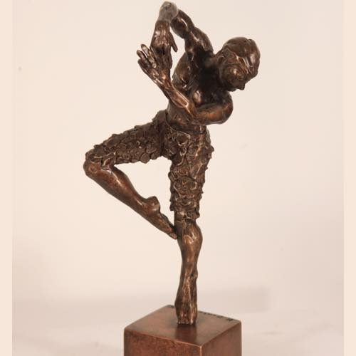 Swan Lake Dancer a bronze sculpture by Kate Denton