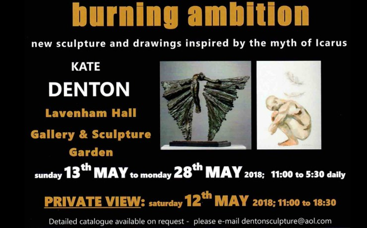 Burning Ambition an exhibition by Kate Denton