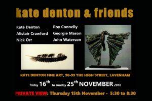 Kate Denton & Friends Exhibition including John Waterson