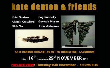 Kate Denton & Friends Exhibition including John Waterson