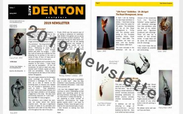 Kate Denton Sculpture 2019 Newsletter