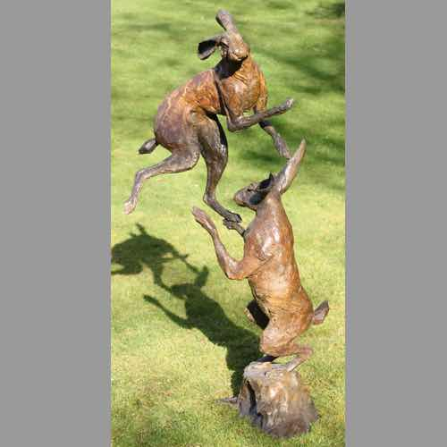 Boxing Hares by Kate Denton