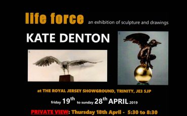 Kate Denton Life Force Exhibition in Jersey